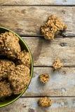 Bol laid mais bon de biscuits photo libre de droits