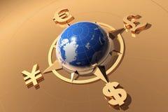 Het concept van het geld Stock Foto