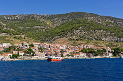 Bol town on Brac island, Croatia Royalty Free Stock Photo