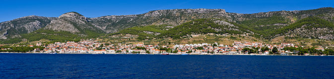 Bol town on Brac island, Croatia Royalty Free Stock Image