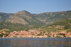 Bol town on island Brac. Croatia Stock Photography