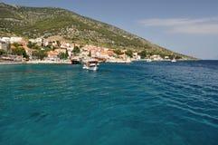Bol town on island Brac, Croatia Royalty Free Stock Photos