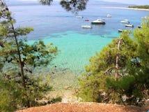 Bol, wyspa Brac, Chorwacja Zdjęcia Royalty Free