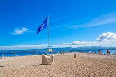 Bol Zlatni Rat Royalty Free Stock Images