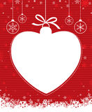Bola 2 de la Navidad Imagen de archivo