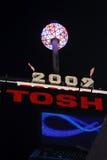 Bola 2009 2 del Times Square Imágenes de archivo libres de regalías