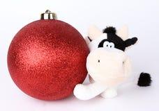 Bola 2009 de la Navidad Imagen de archivo
