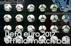 Bola 2012 del funcionario del tango de Eurocup Polonia Ucrania Foto de archivo