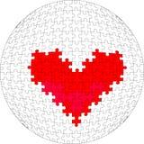 bola 28 del rompecabezas 3d Imagen de archivo libre de regalías