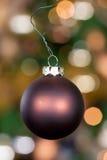Bola 9 de Navidad Foto de archivo libre de regalías