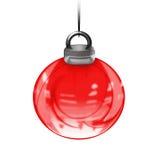 Bola abstracta de Navidad Imagenes de archivo