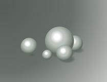 Bola abstracta del fondo Imagenes de archivo