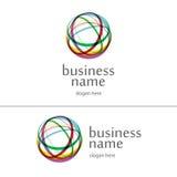 Bola del logotipo del hilado Fotografía de archivo libre de regalías