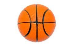 Bola anaranjada de la cesta Imagen de archivo libre de regalías