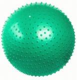 Bola apta del masaje verde. imágenes de archivo libres de regalías