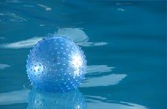 Bola azul Imagen de archivo