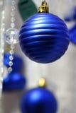 Bola azul Imágenes de archivo libres de regalías