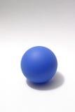 Bola azul Imagen de archivo libre de regalías