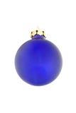 Bola azul Foto de archivo