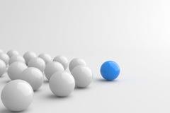Bola azul Fotos de Stock