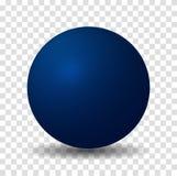 Bola azul de la esfera libre illustration