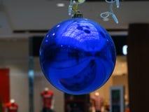 Bola azul hermosa Foto de archivo