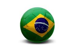 Bola brasileña foto de archivo