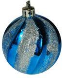 Bola brillante colorida de la Navidad y del Año Nuevo, decoración en el Ch Fotografía de archivo