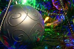 Bola brillante de la composición del Año Nuevo Imagenes de archivo