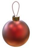 Bola brillante de la Navidad Fotos de archivo libres de regalías