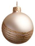 Bola brillante de la Navidad Foto de archivo libre de regalías