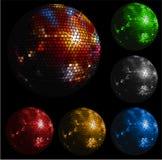 Bola brillante del disco ilustración del vector
