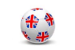 Bola británica de la bandera Fotos de archivo libres de regalías