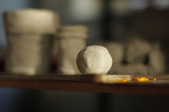 A bola cerâmica da criança Imagem de Stock Royalty Free