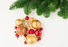 Bola colgante de la Navidad Fotos de archivo libres de regalías