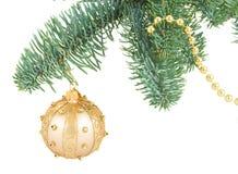 Bola colgante de la Navidad Imagen de archivo libre de regalías