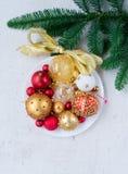Bola colgante de la Navidad Imagen de archivo
