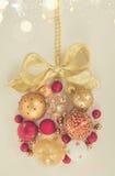 Bola colgante de la Navidad Foto de archivo