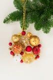 Bola colgante de la Navidad Imágenes de archivo libres de regalías