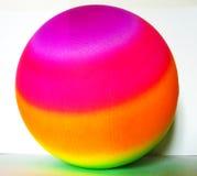 Bola coloreada Foto de archivo libre de regalías