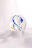 Bola coloreada en el paño Imágenes de archivo libres de regalías