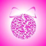 A bola cor-de-rosa Foto de Stock Royalty Free
