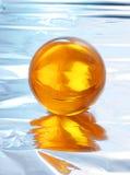 Bola cristalina abstracta Imágenes de archivo libres de regalías