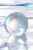 Bola cristalina abstracta Foto de archivo libre de regalías