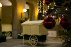 Bola da árvore de Natal Foto de Stock