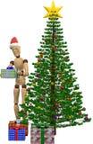 Bola da árvore de Natal Foto de Stock Royalty Free