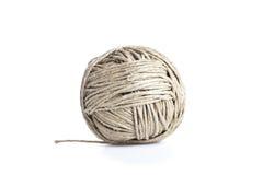 Bola da corda, isolada no branco Foto de Stock Royalty Free