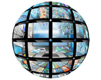 Bola da esfera Fotografia de Stock Royalty Free