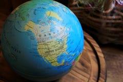 Bola da terra, globo Imagem de Stock