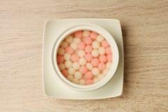 Bola de arroz doce fotos de stock